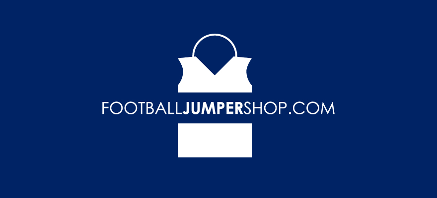 A stylised picture of a sleeveless football jumper with a handle to make it look like a shopping bag
