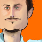 Caricature of Noah Kagan from AppSumo