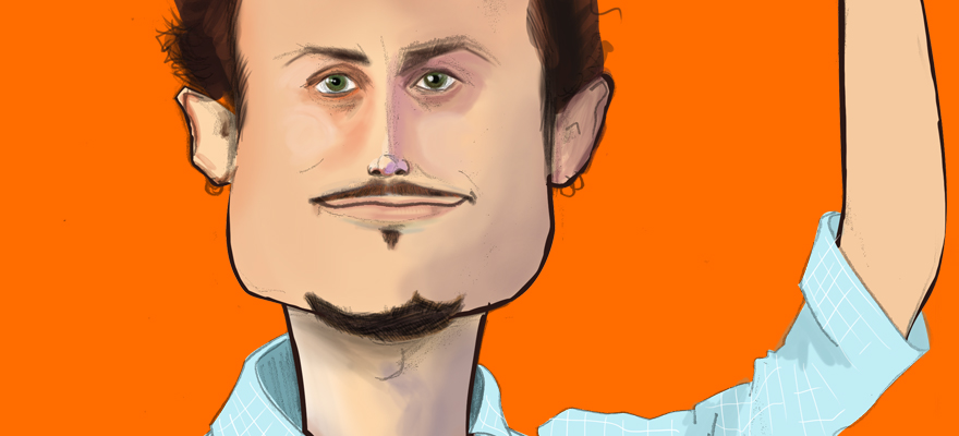 Noah Kagan from AppSumo – Caricature